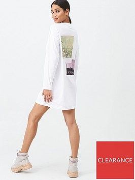missguided-missguided-faded-back-print-long-sleeved-t-shirt-dress-white
