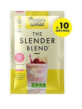 protein-world-slender-blend-sachet-box-white-chocolate-raspberry-10x40g