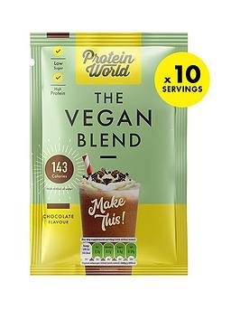 protein-world-vegan-blend-sachet-box-chocolate-10x40g