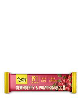 protein-world-slender-blend-bar-pumpkin-cranberry-10x50g