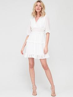 v-by-very-dobby-spot-ruffle-mini-dress-whitenbsp