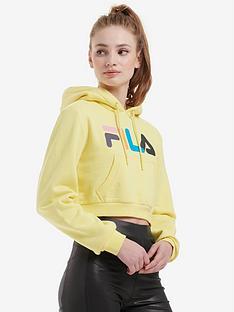 fila-jil-crop-hoodie-yellownbsp