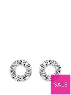 radley-radley-sterling-silver-crystal-set-circle-ladies-stud-earrings