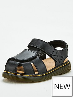 dr-martens-childrensnbspmoby-il-sandal-black