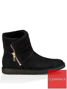 ugg-w-kip-zip-ankle-boot-nero