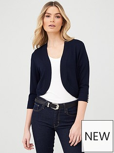 wallis-curve-hem-shrug-navy