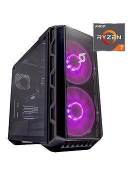Zoostorm Stormforce Crystal 7290-5554 Ryzen R7-3700X, 16Gb Ram, 1Tb Hard Drive &Amp; 250Gb Ssd, Nvidia 8Gb Gtx 2070 Super Graphics, Gaming Pc - Black