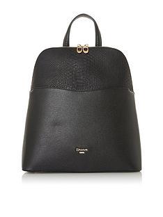 dune-london-dovalle-backpack-black