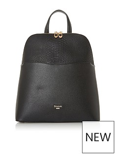 dune-london-dovalle-backpack-black