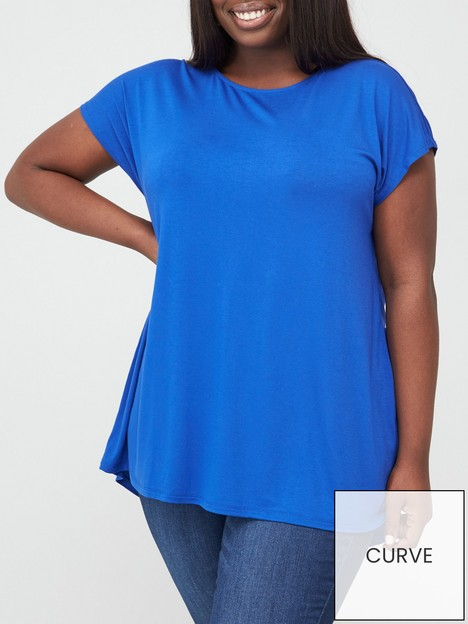 v-by-very-curve-valuenbspbatwing-t-shirt-blue