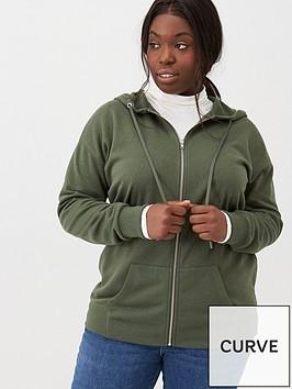 v-by-very-curve-zip-through-hoodie-khaki