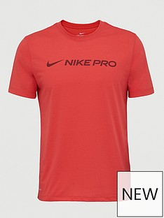 nike-pro-dry-t-shirt-red