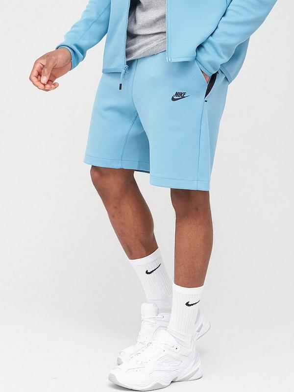 Nike Sportswear Tech Fleece Shorts Blue Very Co Uk
