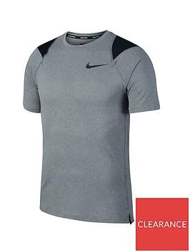 nike-short-sleeve-top-greyblacknbsp