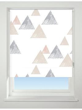 textured-triangle-blackout-roller-blind