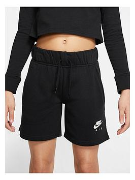 nike-girls-air-shorts-black