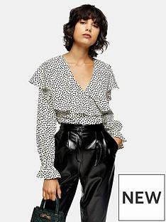 topshop-topshop-ruffle-heart-print-blouse-mono