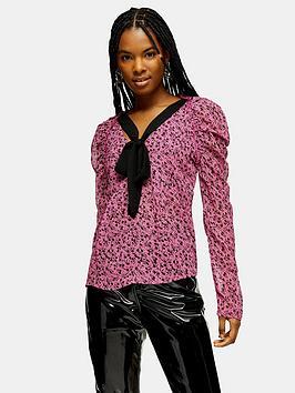 topshop-bow-back-prairie-blouse-fuchsia