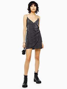 topshop-snake-print-wrap-mini-slip-dress-multi