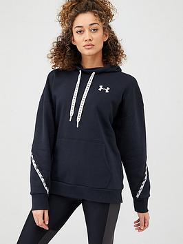 under-armour-wordmark-fleece-hoodie-black