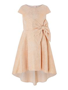 monsoon-girls-kalia-rose-gold-jacquard-dress-rose-gold