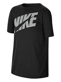nike-boys-performance-t-shirt-blackgrey