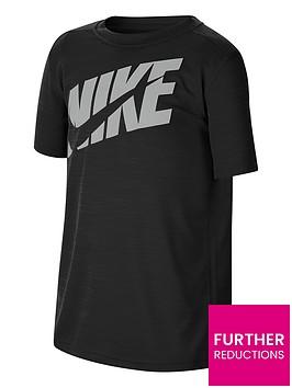 nike-boys-performance-t-shirt-blackgrey