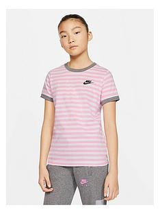 nike-girls-stripe-t-shirt-white