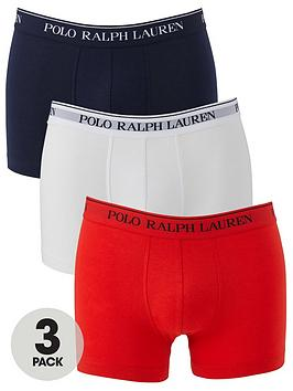 Polo Ralph Lauren 3 Pack Trunks - Navy/White/Red