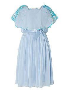 monsoon-girls-eliza-sequin-cape-dress-blue