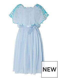 monsoon-girls-eliza-sequin-cape-dress-blue