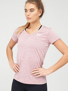 under-armour-techtrade-twist-t-shirtnbsp-pinknbsp