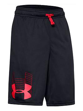 under-armour-boysnbspprototype-logo-shorts-black-red
