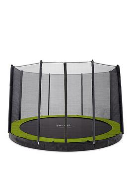 Plum 12Ft In-Ground Trampoline With Enclosure