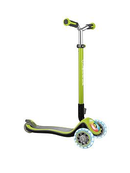 Globber Elite Prime Scooter - Lime