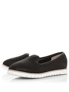 dune-london-galleon-flat-shoe-black