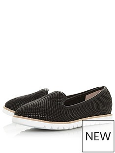 dune-london-galleon-flat-shoe-black