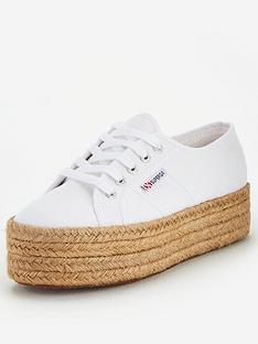 superga-2790-chunky-espadrille-plimsoll-white