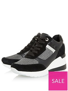 dune-london-elouera-trainer-black