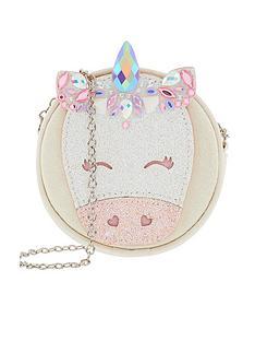 monsoon-girls-bejeweled-unicorn-round-bag-white