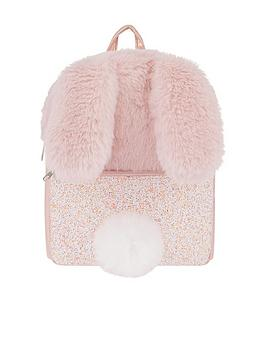 monsoon-girls-miss-fluffy-tail-bunny-backpack-pink