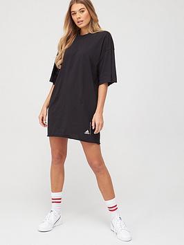 adidas-recycled-cottonnbspt-shirtnbspdress-blacknbsp