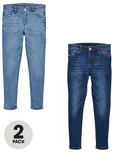 v-by-very-girls-2-pack-skinny-jeans-blue