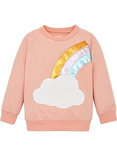 wauw-capow-by-bang-bang-copenhagen-girls-good-luck-rainbow-sweatshirt-pink