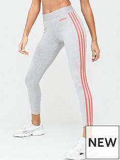 adidas-essentials-3-stripe-leggings-medium-grey-heathernbsp
