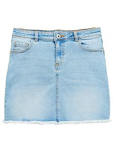v-by-very-girls-denim-skirt-blue