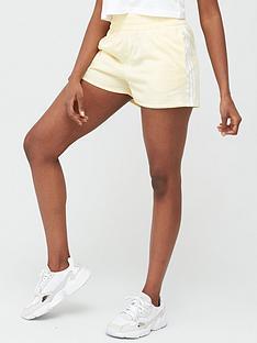 adidas-originals-3-stripe-shorts-yellownbsp