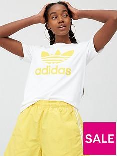 adidas-originals-trefoil-t-shirt-whitenbsp