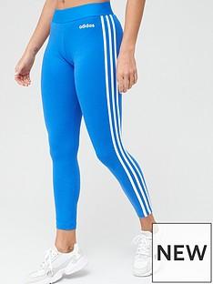 adidas-essentials-3-stripe-leggings-bluenbsp