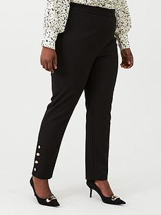 v-by-very-curve-button-hem-trouser-black